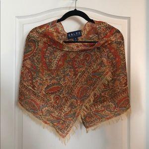 Ralph Ralph Lauren paisley shawl
